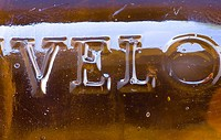 Detail of bottle