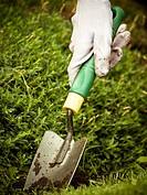 Garden tool mulch, landscaping home gardening, vertical