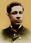 Jan Ernst Matzeliger 1852_1889, an African_American who invented a shoe_lasting machine that could attach the sole to a shoe in one minute, greatly sp...