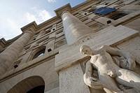 Milano stock market building italy