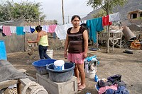 Guaybo, a squatter settlement in the Diocese of Lurin, South Lima, Peru