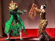 Myanmar, Burma, Yangon, Rangoon, classical dancers,