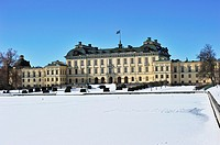 The royal castle Drottningholm in Stockholm, Sweden