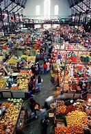 Central market, Guanajuato, Mexico
