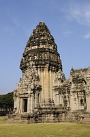 The Main Prang of Prasat Phimai Temple, Phimai, Nakhon Ratchasima Province, Isaan, Northeast Thailand