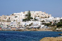 Greece, Cyclades, Naxos  City of Hora
