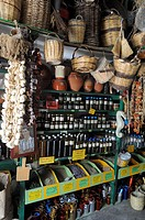 Greece, Cyclades, Naxos  Traditional shop in Hora