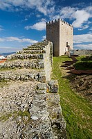 Castle of Celorico da Beira village, in Beira Alta  Guarda District  Portugal