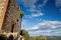 Monfrague Castle, in Monfrague National Park  Biosphere Reserve  Cáceres province  Extremadura  spain