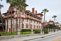 St  Augustine, FL - Jan 2009 - Flagler College, an historic liberal arts school built by Henry Flagler in St  Augustine, Florida