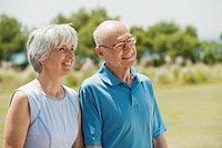 Spain, Mallorca, Senior couple, portrait