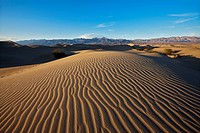 USA, California, Death Valley, Sand dunes