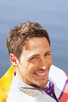 Italy, South Tyrol, Portrait of a man, smiling, close_up