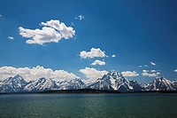 USA, Wyoming, Teton Range, Grand Teton National Park