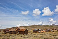 USA, California, Sierra Nevada, Bodie State Park