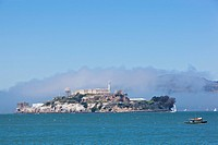 USA, California, San Francisco, Alcatraz island