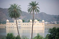 Jal Mahal, early morning, Amber, Rajasthan, India, Asia