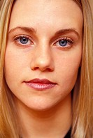 Young Woman´s Peaceful Face