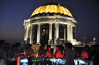 Bangkok (Thailand): the rooftop of the State Tower, with the Sky Bar