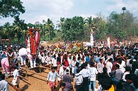 Mamangam festival at Machadv , Kerala , India
