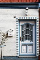 Alte Türen in Friedrichstadt, Schleswig-Holstein, Deutschland , Old Doors of Friedrichstadt, Schleswig-Holstein, Germany