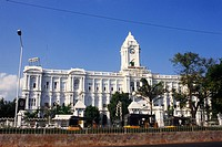 Corporation of Chennai , Indo Saracenic style building , Chennai , Tamil Nadu , India