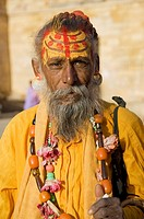 A Hindu priest in Jaisalmer, India