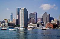 Boston Massachussets skyline