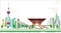 Illustration Technique for Expo 2010 Shanghai China