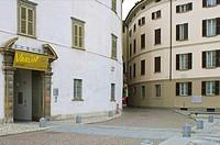 palazzo sassi de lavizzari: museo valtellinese storia e arte, sondrio, italy