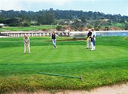 Pebble Beach Golf Linke, San Francisco