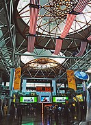 Inside the train terminal, Kuala Lumpur, Malaysia