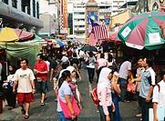 People shopping in China Town, Kuala Lumpur, Malaysia