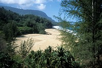 Lumahai Beach, Near Hanalei, Kauai, Hawaii, USA