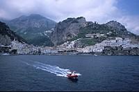 Royal Clipper Zodiac, Amalfi, Campania, Italy