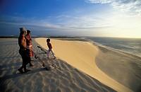 Sand Boarders, Dunes, Jericoacoara Beach, Ceara, Brazil