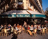 Paris St German Cafe Deux Margots people outdoor
