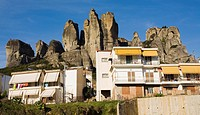 Kalambaka town. Meteora. Thessaly. Greece