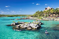 Aquapark Xel_Ha, State of Quintana Roo, Peninsula Yucatan, Mexico