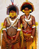 Two Mekeo women from Waima Village in the Central Province of Papua