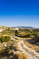 Altiplana high plateau in the Granada province, Province Granada, Andalucia, Spain