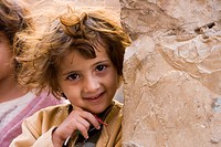 Happy Yemenite Girl, Sana´a, Yemen