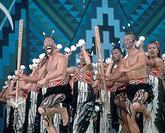 New Zealand, north island, Rotorua Arts Festival, dance and singing performance