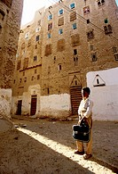 Asia,Yemen,Wadi Hadramaut, Shibam, called the oldest skyscraper city in the world or the Manhattan of the desert, is now a UNESCO World Heritage Site,...