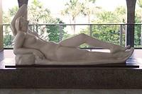 Sculpture Lying Nude, Victor Brecheret, Distrito Federal, Brasília, Brazil