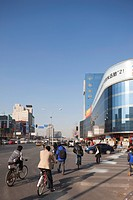Streetscape of Zhongguancun, Beijing, China