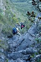 People, Trail, Vale do Paty, Chapada Diamantina, Bahia, Brazil