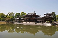 Phoenix hall, Byodo_in, Uji, Kyoto Prefecture, Japan