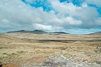 Landscape, Colônia Britânica, Atlântico Ocean Sul, Malvinas Island, Falkland, Port Stanley
