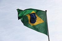 Flag of Brazil, S&#227;o Paulo, Brazil